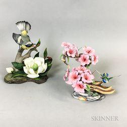 Two Boehm Porcelain Birds