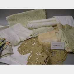 Large Lot of Assorted Table Linens
