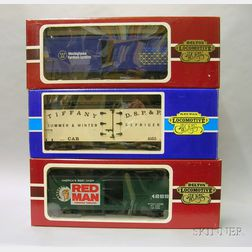 Five Boxed Delton Locomotive Works Rolling Stock