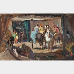 Jon Corbino (American, 1905-1964)      Circus Riders