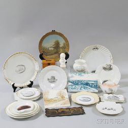 Group of John Greenleaf Whittier Commemorative Items