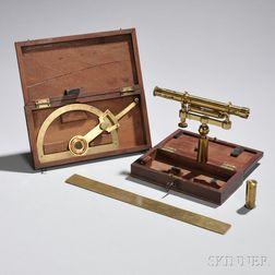 Three M. Berge Brass Instruments