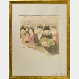 Raphael Soyer (American, 1899-1987)      Immigrants