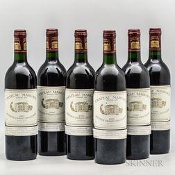 Chateau Margaux 1989, 6 bottles