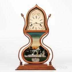 Reproduction J.C. Brown Acorn Clock