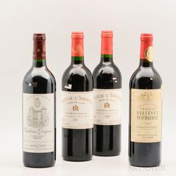 Mixed Bordeaux, 4 bottles