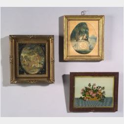 Three Early Framed Items