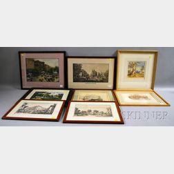 Ten Assorted Framed Works