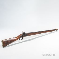 Captured Confederate Model 1854 Austrian Lorenz Rifle