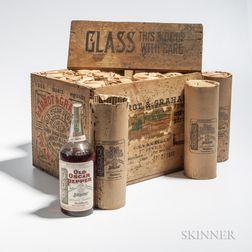 Old Oscar Pepper 6 Years Old 1911, 12 quart bottles