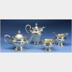 Edward VII Four-Piece Tete-a-Tete Tea Service