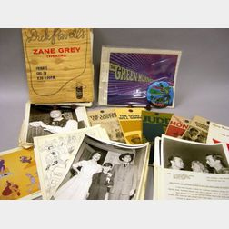 Collection of 1960s Television Series Press and Promotional Items