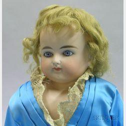 Turned Shoulder Head Bisque Doll