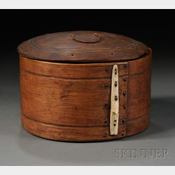 Eskimo Carved Wood Box