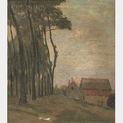 Charles Warren Eaton (American, 1857-1937)      Flemish Farm