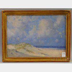 Leslie Prince Thompson (Massachusetts, 1880-1963)      Seaside Dunes.