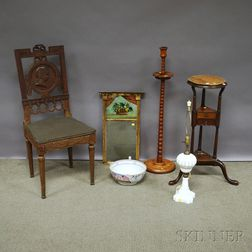 Six Assorted Small Furniture and Accessory Items
