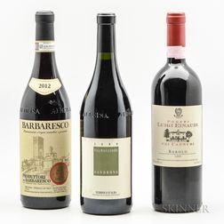Mixed Piedmont, 3 bottles