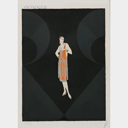 Romain De Tirtoff, called Erté (Russian, 1892-1990)      Manhattan Mary I