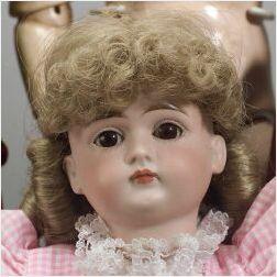 Closed Mouth Kestner Bisque Socket Head Doll