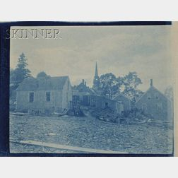 Arthur Wesley Dow (American, 1857-1922)      Farm in Ipswich.