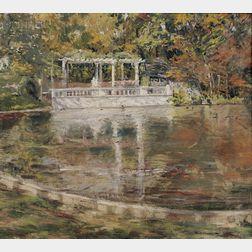 Catharine Wharton Morris Wright (American, 1899-1988)      Floating Leaves
