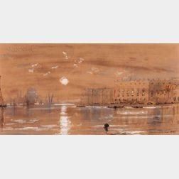 Edmund Darch Lewis (American, 1835-1910)      Venetian Scene