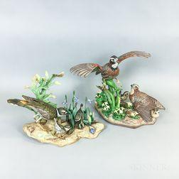 Boehm Porcelain Bird Group
