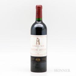 Chateau Latour 1999, 1 bottle