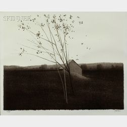 Robert Kipniss (American, b. 1933)    After Harvest