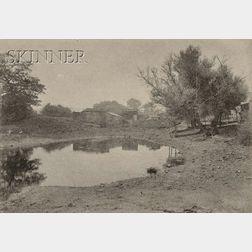 Arthur Wesley Dow (American, 1857-1922)      Pond in Ipswich.