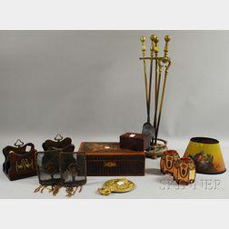 Thirteen Assorted Decorative Items