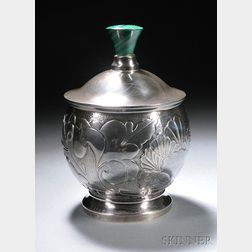Henry Petzal Silversmith (1906-2002) Covered Jar
