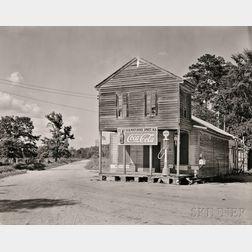 Walker Evans (American, 1903-1975)      Post Office, Sprott, Alabama