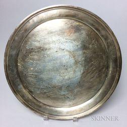 S. Kirk & Son Sterling Silver Circular Tray