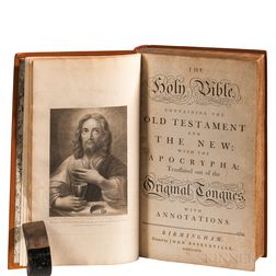 Bible, English. The Holy Bible Containing the Old Testament and the New  , Extra-illustrated.
