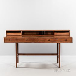 Jens Quistgaard (Danish, 1918-2008) Desk for Lovig Dansk