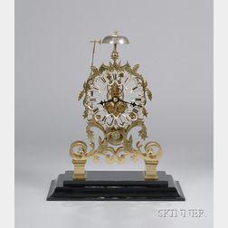 English Skeleton Clock
