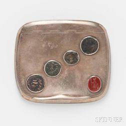 .900 Silver Card Case