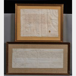 Documents on Parchment, Two.