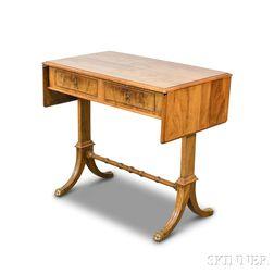 Federal-style Mahogany Veneer Sofa Table