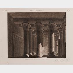Description de LEgypte our Recueil des Observations et des Recherches qui on ete Faites en Egypte pendant lExpedition de lArmee Fran