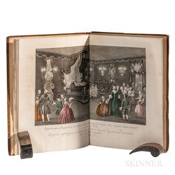 Punt, Jan (1711-1779) Afbeelding van de Zaal en t' Praalbed.