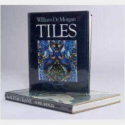 Lot of Ten English Decorative Arts Books