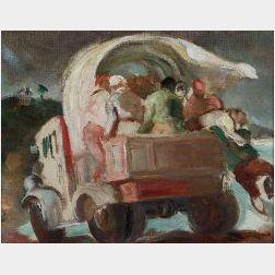 Jon Corbino (Italian/American, 1905-1964)  Untitled, The Flood Series