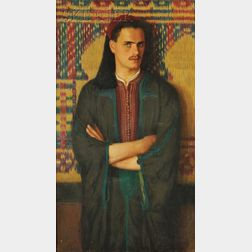 Albert Herter  (American, 1871-1950)      Mohamed Ben Hadge Abdeslam Djedidi/
