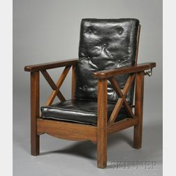 Child's Oak Morris Chair