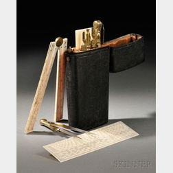 Shagreen-cased Drafting Set by Dollond