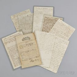 Myers, Moses (1753-1835) Archive of Correspondence and Documents.