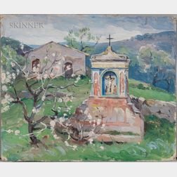 Mabel May Woodward (American, 1877-1945)    Shrine, Sicily